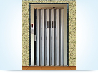 Imperforate Doors for Elevators, Lifts
